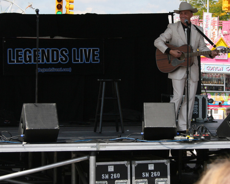alvin anders as hank williams, hamtramck festival, empire entertainment, legends live