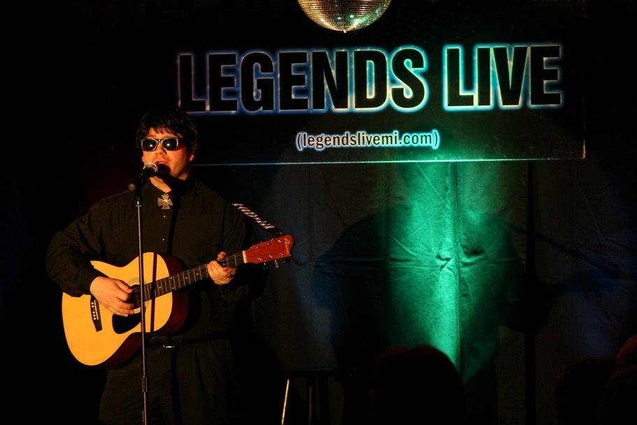 andy davis as roy orbison, empire entertainment, legends live