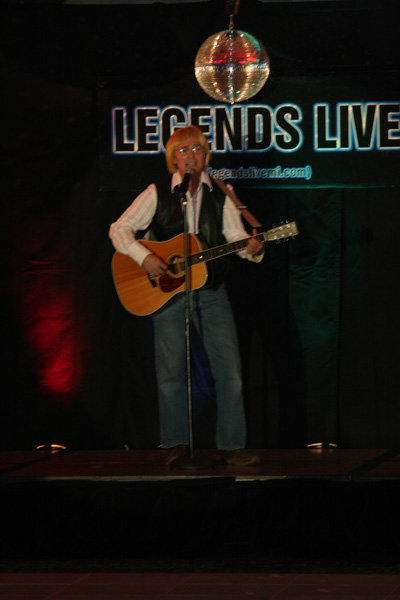 joe tackett as john denver, empire entertainment, legends live