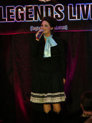 erin babb as patsy cline, empire entertainment, legends live